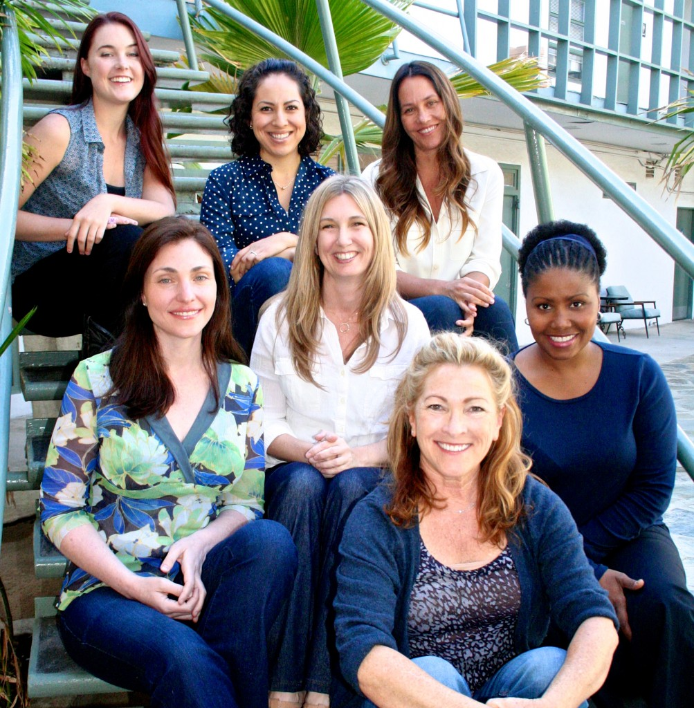 """The current Well Women Team, '13! (from top-left): Kaitlyn Connors, Julie Grados, Jennifer Block, Audrey Guss, Danica, Nyjah Westbrooks and Caitlin Phillips. See their full bios on the """"About Us"""" section of the Well Women Website."""