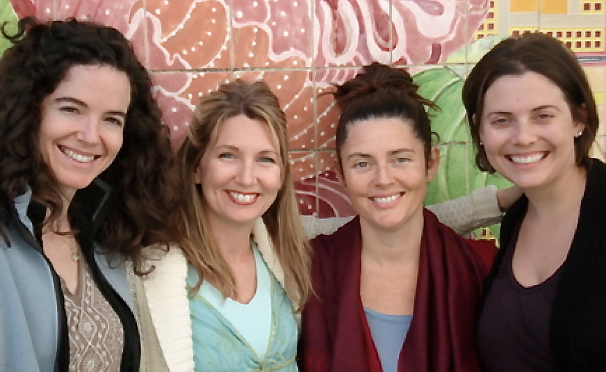 (from left to right) Virginia Prior, Danica, Anna and Carolin Bennett '07
